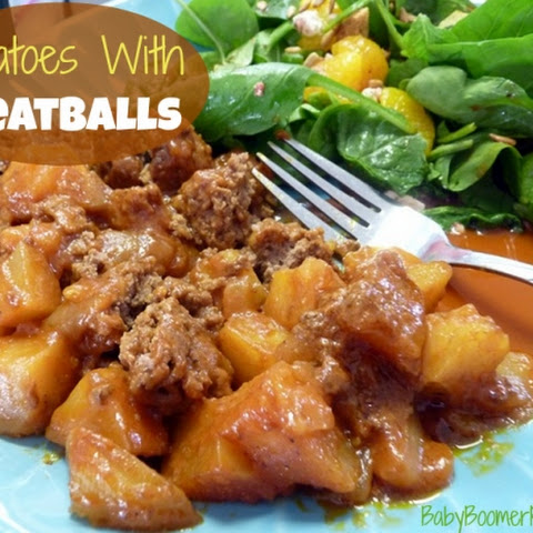 Potatoes with Meatballs