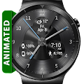 Free Black Metal HD Watch Face APK for Windows 8