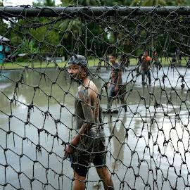 sepak bola lumpur  by Agoes Santoso - Sports & Fitness Soccer/Association football