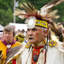 Mohican by Jon Harvey - People Portraits of Men ( mohican, indian, dance, people, full regalia, powwow )