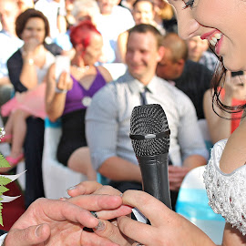 with this ring by Rina Meintjes - Wedding Ceremony (  )