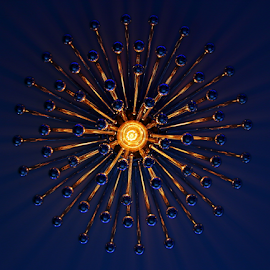 Galaxy light...!! by Shrikrishna Bhat - Artistic Objects Other Objects ( reflection, pattern, shadow, light, galaxy )