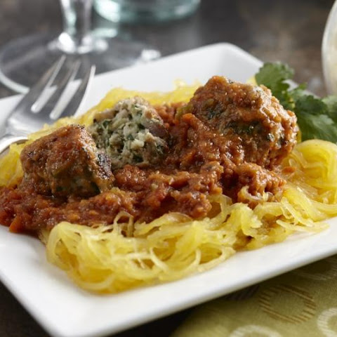 Turkey Meatballs with Marinara and Spaghetti Squash