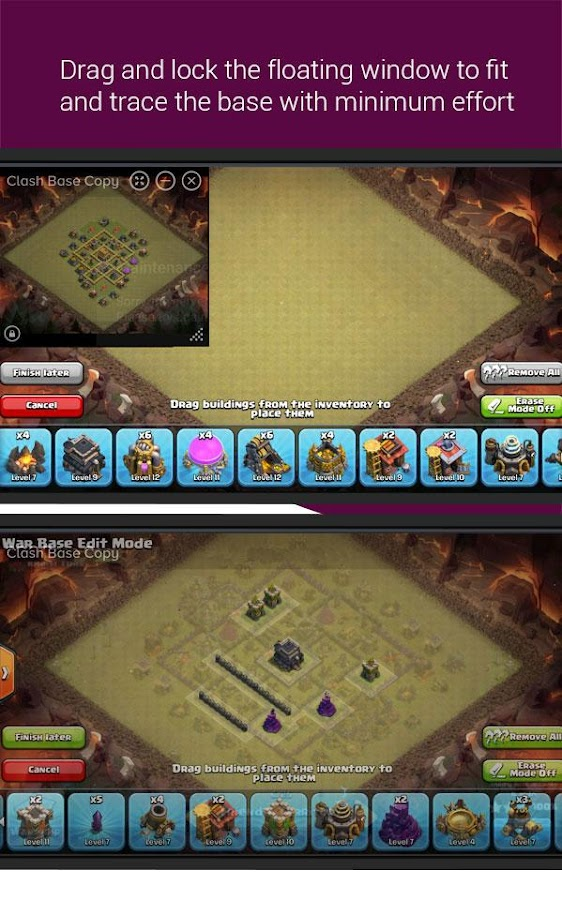 Clash Base Designer for COC Screenshot 2