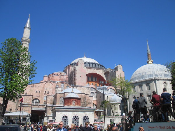 Hagia Sophia Exterior from the South