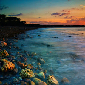 Manikin Beach by Theyjun Photoworks - Novices Only Landscapes ( gnd, sony, nd, sunset, long exposure, alpha 290, filter )
