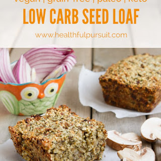 Ultimate Low Carb Vegan Seed Loaf