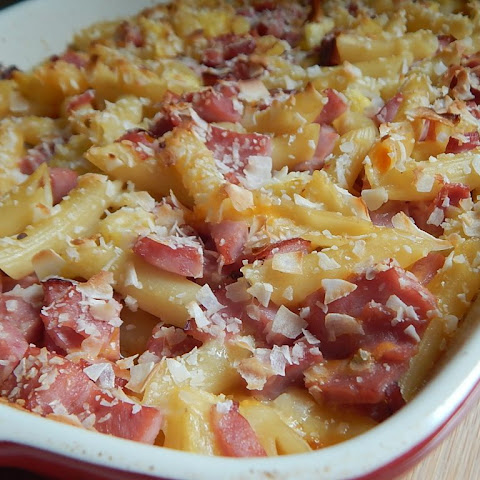 Hawaiian Pasta Bake
