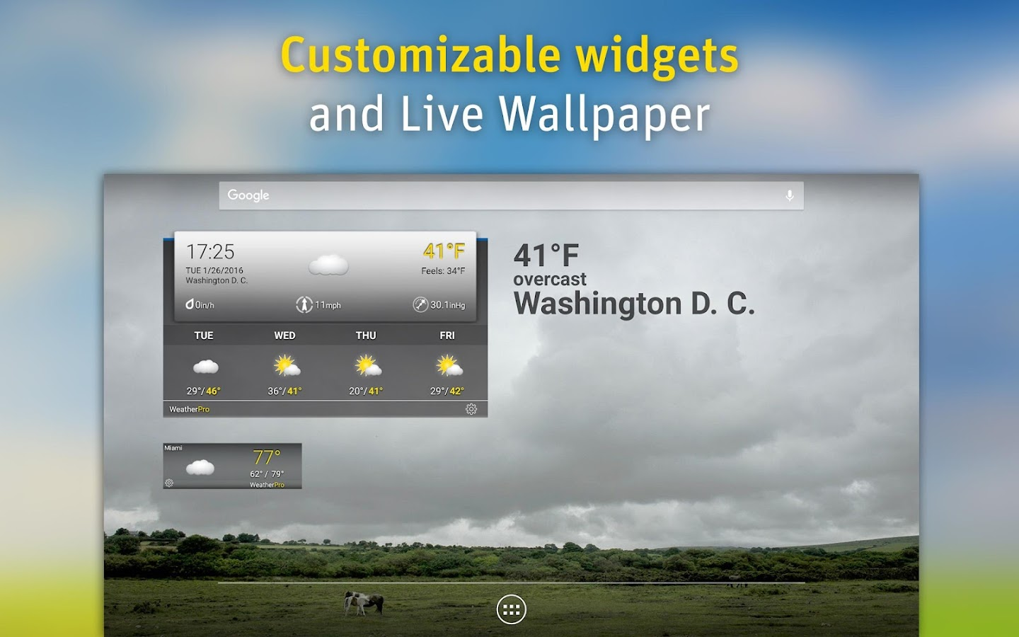 WeatherPro Screenshot 7