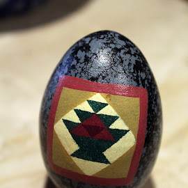 Easter Egg 3 by Lenora Popa - Artistic Objects Other Objects ( holiday, macro, easter egg, easter, artistic objects )