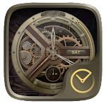 Steampunk GO Clock Themes Icon