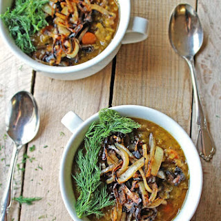 Danish Split Pea Soup With Dill