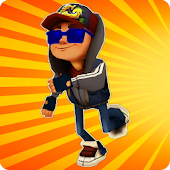 train Subway Surf & Road Run Icon