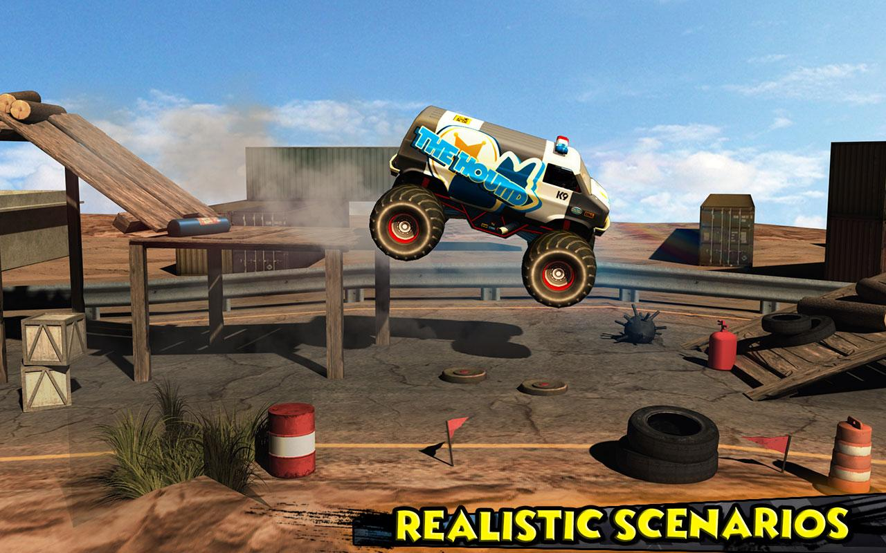 Monster Truck Rider 3D Screenshot 8