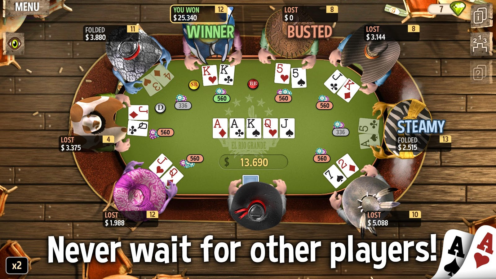 Governor of Poker 2 Premium Screenshot 6