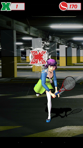 android Veemee Avatar Tap Tennis Screenshot 3