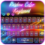 Neon Electric Color Keyboard Icon