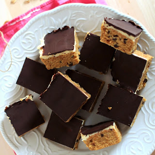 Cookie Dough Cheesecake Protein Bars