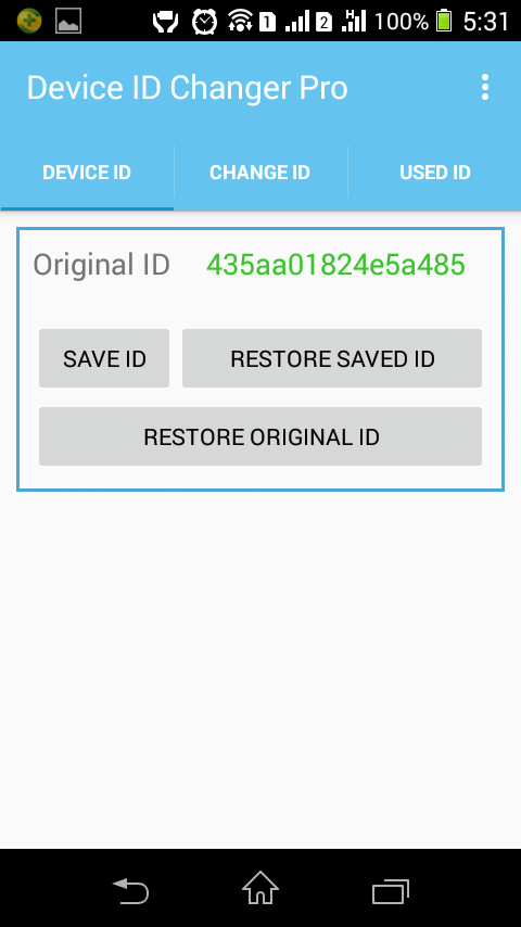 Device ID Changer Pro [ADIC] Screenshot 1