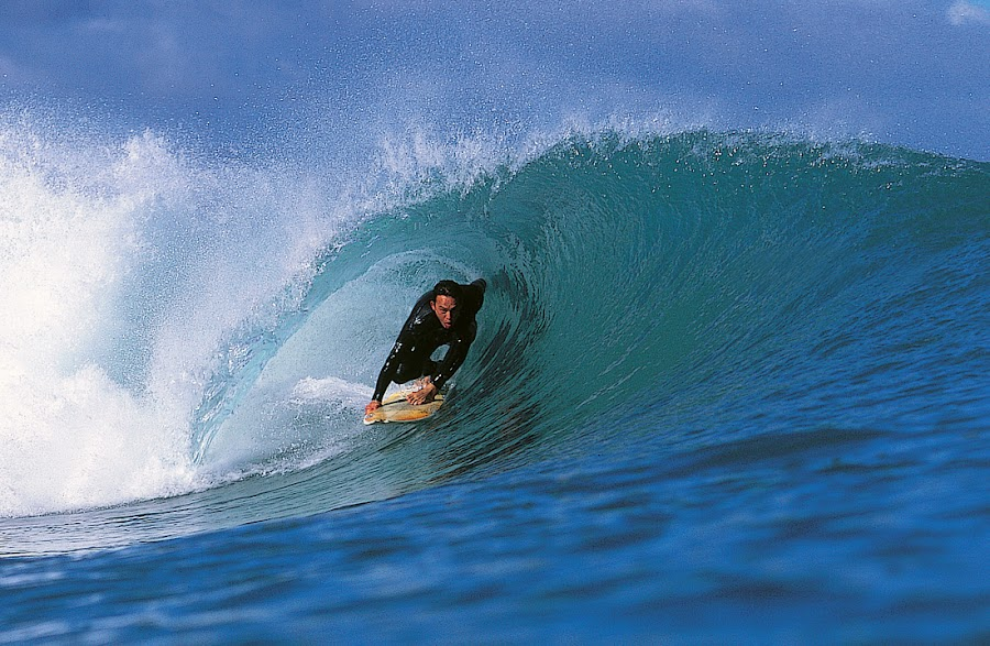 Surf Aotearoa by Paul Kennedy - Sports & Fitness Surfing ( surfing, tube ride, water sport, surfer, riding, pacific ocean )