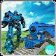 Futuristic Euro Train Transformation Robot War 3D