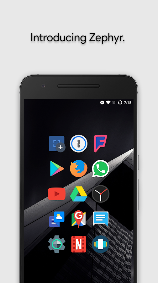 Zephyr - Icon Pack Screenshot 0