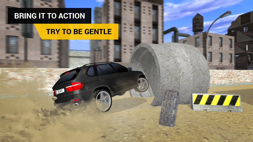 android PARKING JEU SUV Screenshot 2