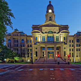Tarrant County Courthouse-4 by Kevin Whitaker - Buildings & Architecture Public & Historical