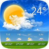 Download GO Weather - Widget, Theme, Wallpaper, Efficient for Android.