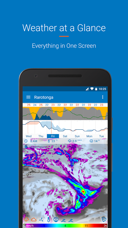 Flowx: long range weather forecast Screenshot 1