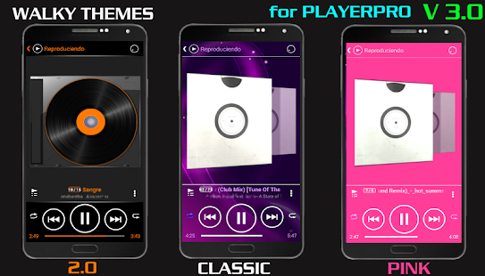 SKINPLAYERPRO V3 WALKY CLASSIC - screenshot
