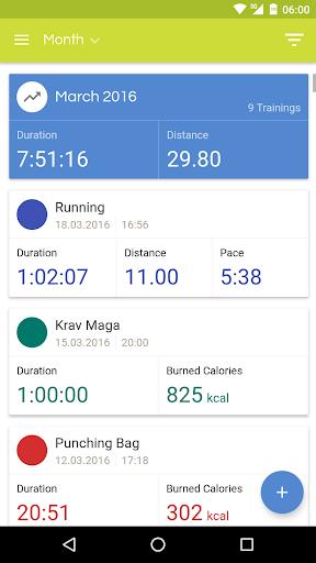 Running Diary PRO - screenshot