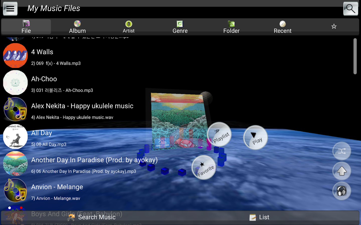 Solid Music Player Pro Screenshot 9