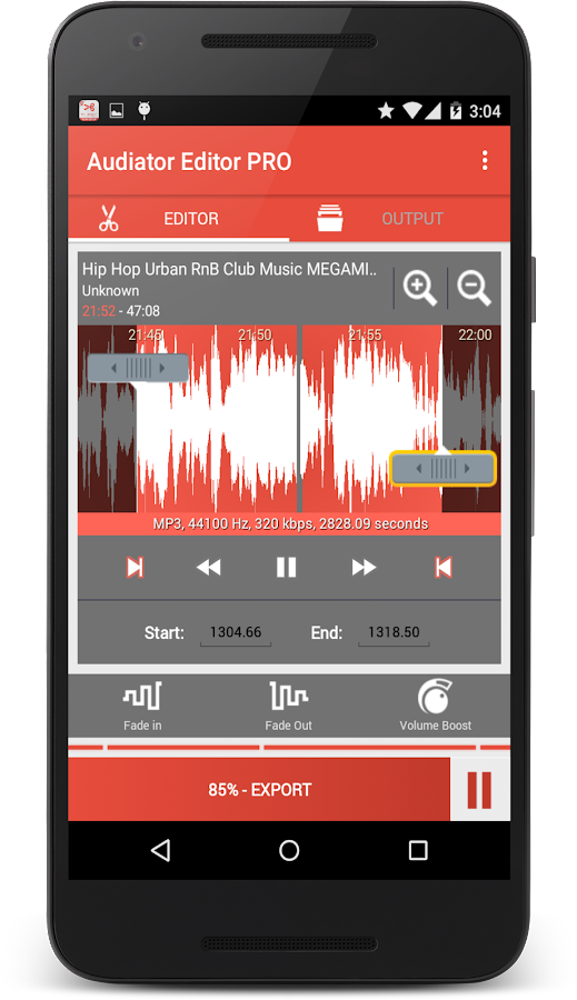 MP3 Cutter Ringtone Maker PRO Screenshot 0