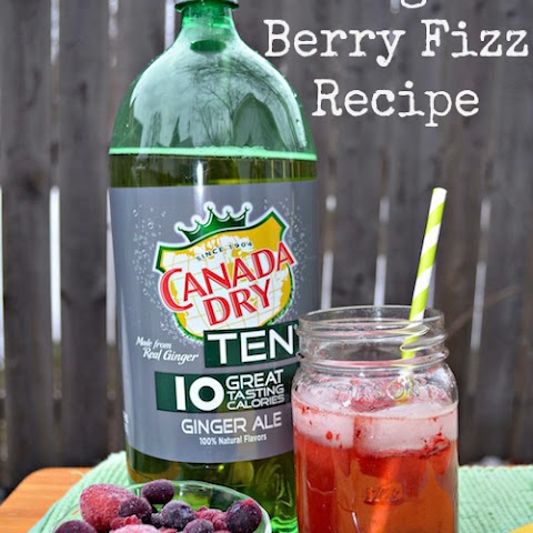 Ginger Berry Fizz Drink