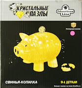 3D Crystal Puzzle Свинья XL