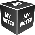 3D My Notes Live Wallpaper Icon