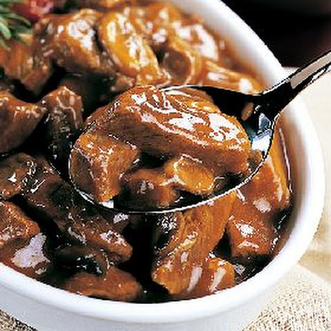 Beef Tips in Mushroom Sauce Crock Pot