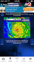 Screenshot of Hurricane Tracker WESH 2