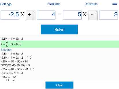 how to solve degree 4 equation in calculator