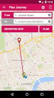 Screenshot of London Bus Checker Live Times