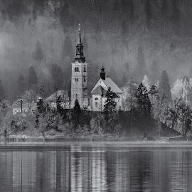 by Bojan Bilas - Black & White Landscapes ( urban exploration, reflection, europe, monochrome )