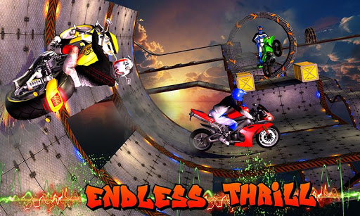 Crazy Bike Stunts 3D Screenshot