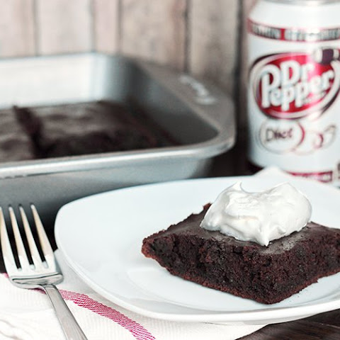 Skinny Dr. Pepper Fudge Brownies