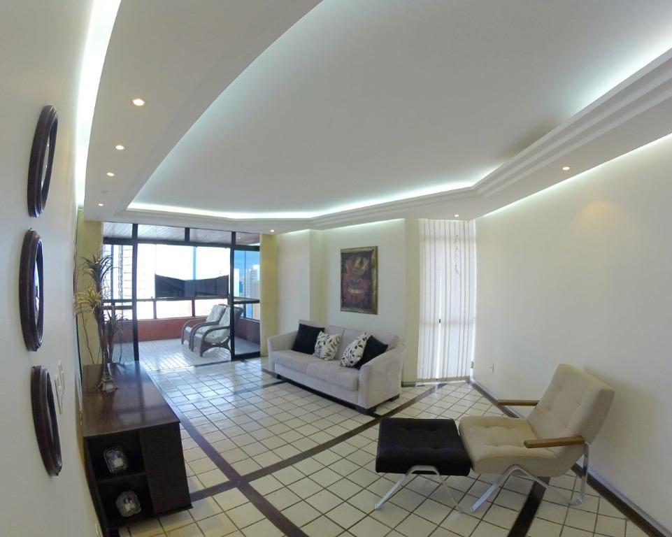 Apartamento com 4 dormitórios à venda, 260 m² por R$ 800.000 - Aeroclube - João Pessoa/PB