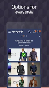 Mr Voonik -Online Shopping Men APK Descargar