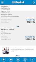 Screenshot of Yapı Kredi Mobil Bankacılık