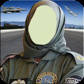 Lady Pilot Army Officer Uniform Photo Editor APK for Bluestacks
