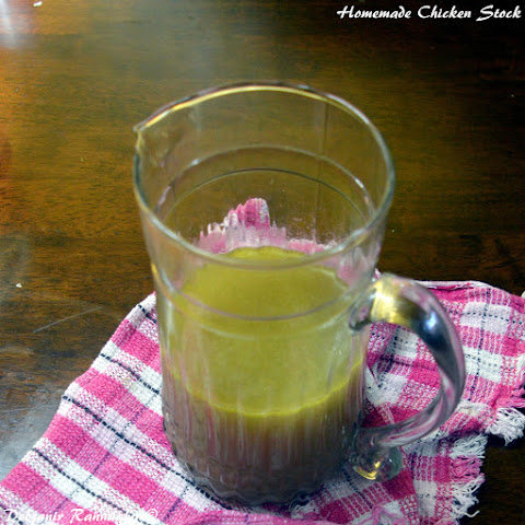 How to make Chicken Stock at Home!