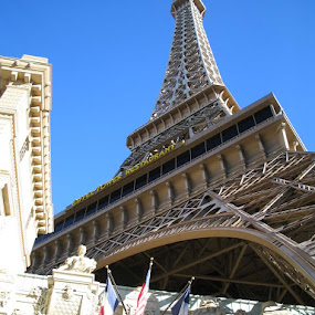 Paris Paris by Alex Heimberger - Travel Locations Landmarks ( las vegas, landmark )